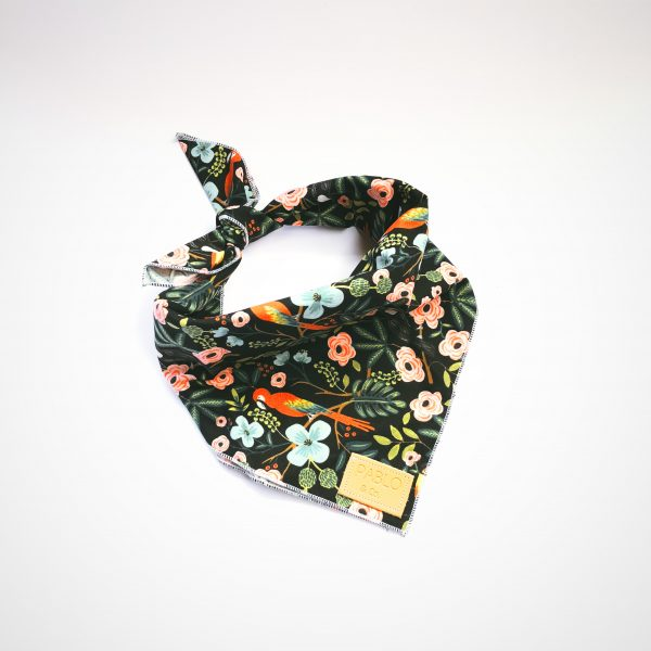 Pablo and Co Midnight Paradise Dog Bandana