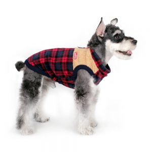 Charlie's Backyard Teddy Dog Vest in Lumberjack - Side