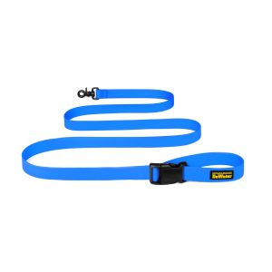 Charlie's Backyard Dewater Dog Leash - Blue