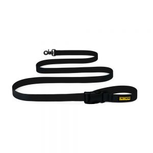 Charlie's Backyard DeWater Dog Leash - Black